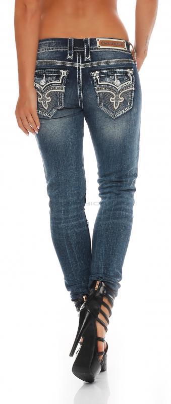 rock revival damen jeans ena s203 skinny. Black Bedroom Furniture Sets. Home Design Ideas