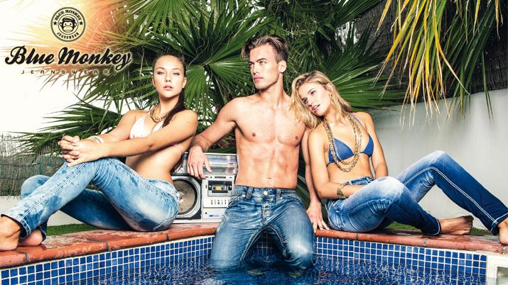 Blue Monkey Jeans Damenjeans Herrenjeans Jean
