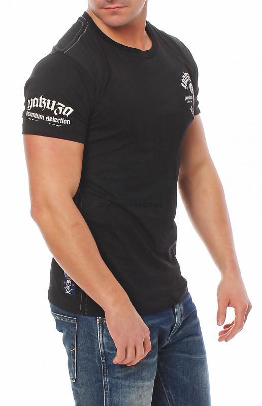 yakuza premium herren t shirt shirt kurzarmshirt yps 2005 m. Black Bedroom Furniture Sets. Home Design Ideas
