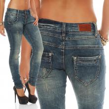 Blue Monkey Damen Jeans Julia BM-3623
