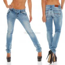 Blue Monkey Damen Jeans Manie BM-04 light blue