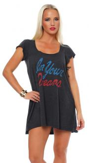 Local Celebrity Damen T-Shirt Shirt Kurzarmshirt Dress...