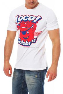 Local Celebrity Herren T-Shirt Shirt Cool Aid
