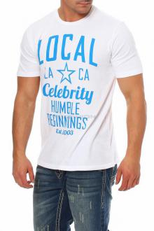 Local Celebrity Herren T-Shirt Shirt Kurzarmshirt  Humble...