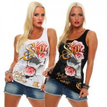 Mafia and Crime Damen T-Shirt Top SIN