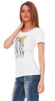 Tee Library Damen T-Shirt Discovery