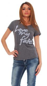 Tee Library Damen T-Shirt - Love my Fate