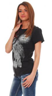 Tee Library Damen T-Shirt THE OWL OF MINERVA