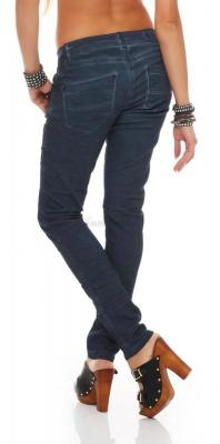 Blue Monkey Damen Jeans Betty BM-11 dark blue L 32 W34