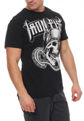 Iron Fist Herren T-Shirt DEATH CHOKE black Größe L