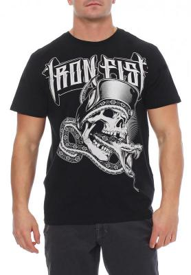 Iron Fist Herren T-Shirt DEATH CHOKE black Größe M