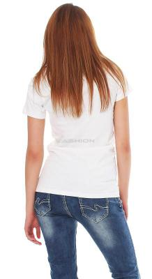 Tee Library Damen T-Shirt Discovery M