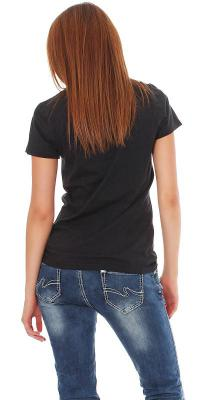 Tee Library Damen T-Shirt St. Long Hair L