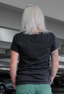 Tee Library Damen T-Shirt St. Long Hair S
