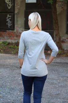 Tee Library Damen T-Shirt, Shirt Depending on Yor S