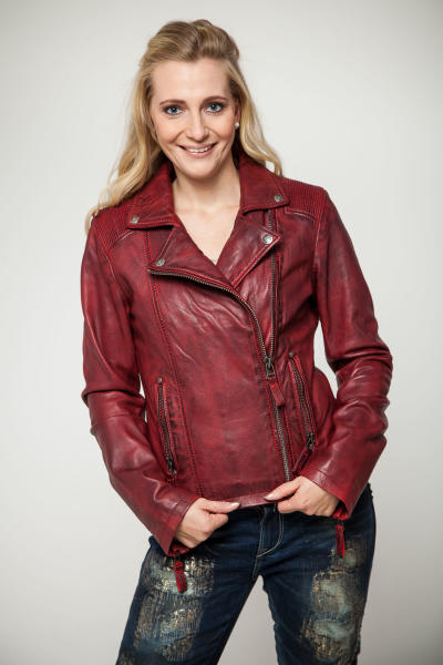 Blue Monkey Damen Lederjacke BM62 545