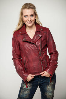 Blue Monkey Damen Lederjacke BM62-545
