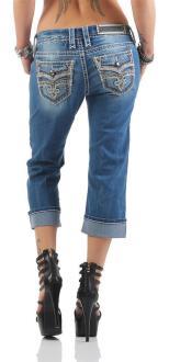 Rock Revival Damen Capri Jeans CYDNEE P200