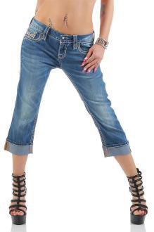 Rock Revival Damen Capri Jeans CYDNEE P200 W28