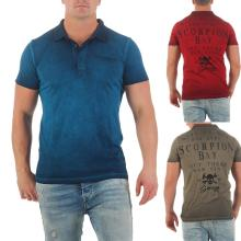 Scorpion Bay Herren T-Shirt Polo-Shirt MTC3345