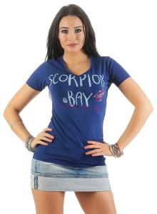 Scorpion Bay Damen T-Shirt WTE3325 weiss (white) XS