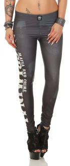 Mafia & Crime Damen Leggings 474
