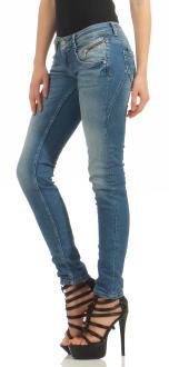 M.O.D Damen Jeans Hose MARIA Douala Blue