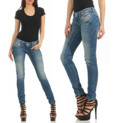 M.O.D Damen Jeans Hose MARIA Douala Blue W32 L 30