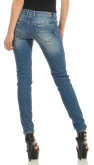 M.O.D Damen Jeans Hose MARIA Douala Blue W34 L 32