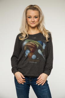 Local Celebrity Damen Pullover Astronauts Stones Lounger