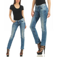 M.O.D - Damen Jeans Alice Regular Lagos Blue