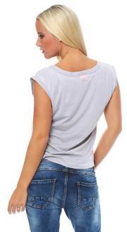 Local Celebrity Damen Shirt, T-Shirt Muscle Shirt LC Logo Größe S