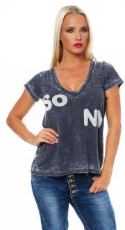 Local Celebrity Damen T-Shirt Shirt Kurzarmshirt So Ny