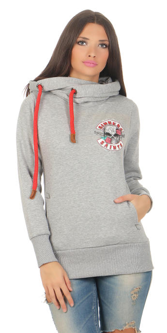 Mafia & Crime Damen Hoodie Sinners & Saints 401