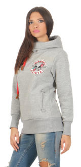 Mafia & Crime Damen Hoodie Sinners & Saints 401 S