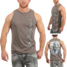 Gorilla Biker Herren T-Shirt Muskelshirt Free Spirit GB31 Gr. S