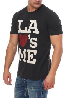Local Celebrity Herren T-Shirt Shirt Kurzarmshirt  LA LOVES