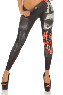 Mafia & Crime Damen Leggings BANDANA 525