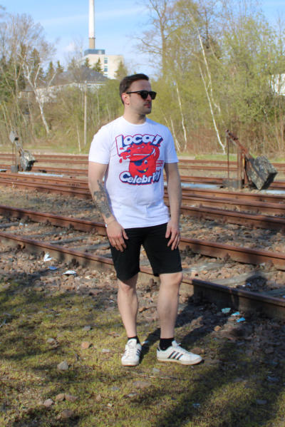 Local Celebrity Herren T-Shirt Cool Aid Größe S