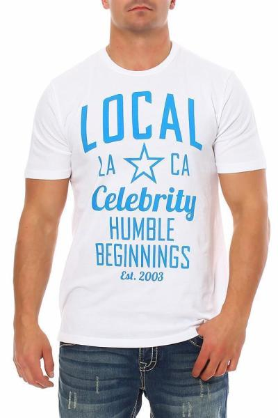 Local Celebrity Herren T-Shirt Humble Bennings Größe L