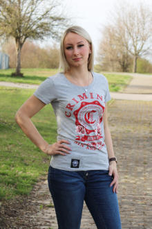 Mafia & Crime Damen T-Shirt Sin and Crime 395