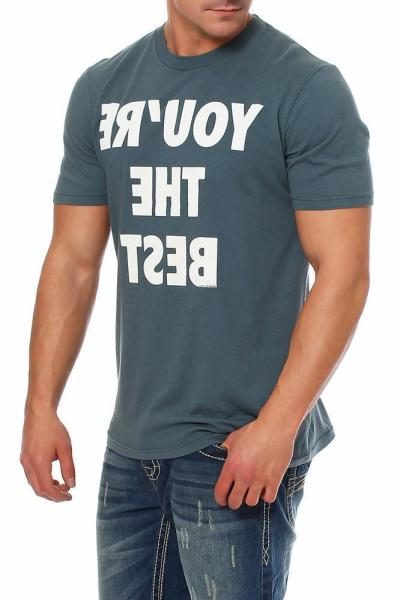 Local Celebrity Herren T-Shirt Kurzarmshirt Shirt  YOU`RE THE BEST