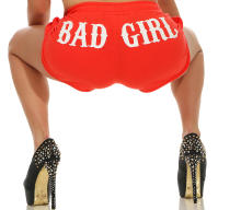 Mafia und Crime Damen Hotpants BAD GIRL 533