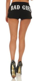 Mafia und Crime Damen Hotpants BAD GIRL 533 schwarz XL