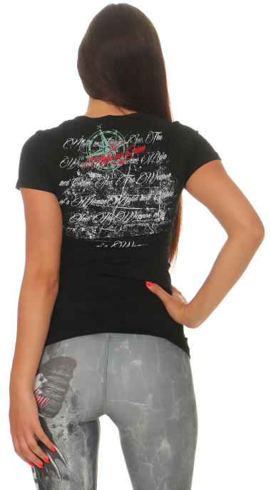 Mafia & Crime Damen T-Shirt V-Neck 396 XS