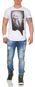 Religion Herren T-Shirt ROCK STAR CURVE - 48BRSF30013