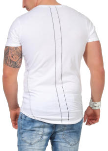 Religion Herren T-Shirt ROCK STAR CURVE - 48BRSF30013 L