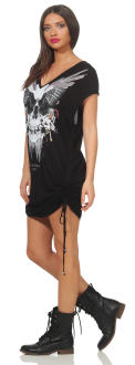 Religion Damen Dress SKULL WINGS GRAPHIC - 88EMTD24873