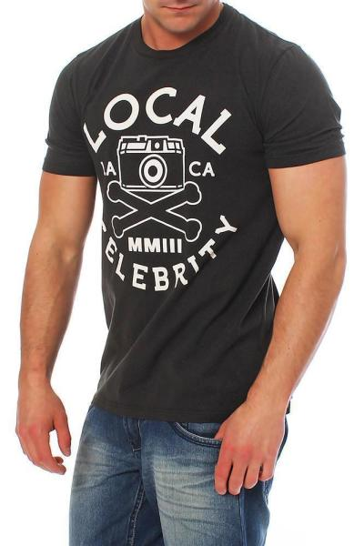 Local Celebrity Herren T-Shirt Shirt Kurzarm MMLLL -  M2H-020-138-01