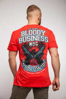 Mafia & Crime Herren T-Shirt BLODDY BUSSINES 583